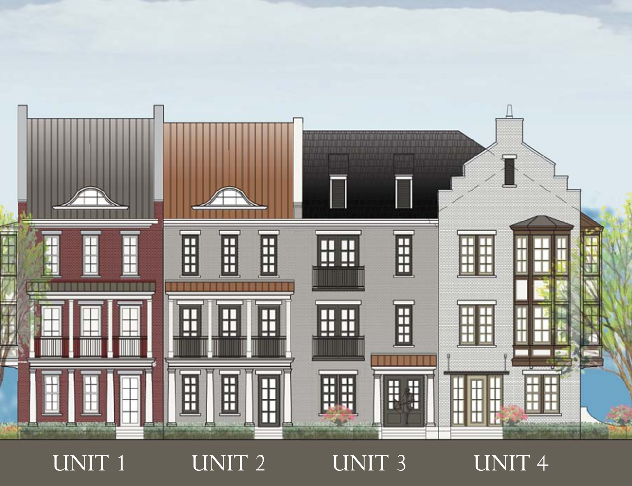 Live-Work Townhomes