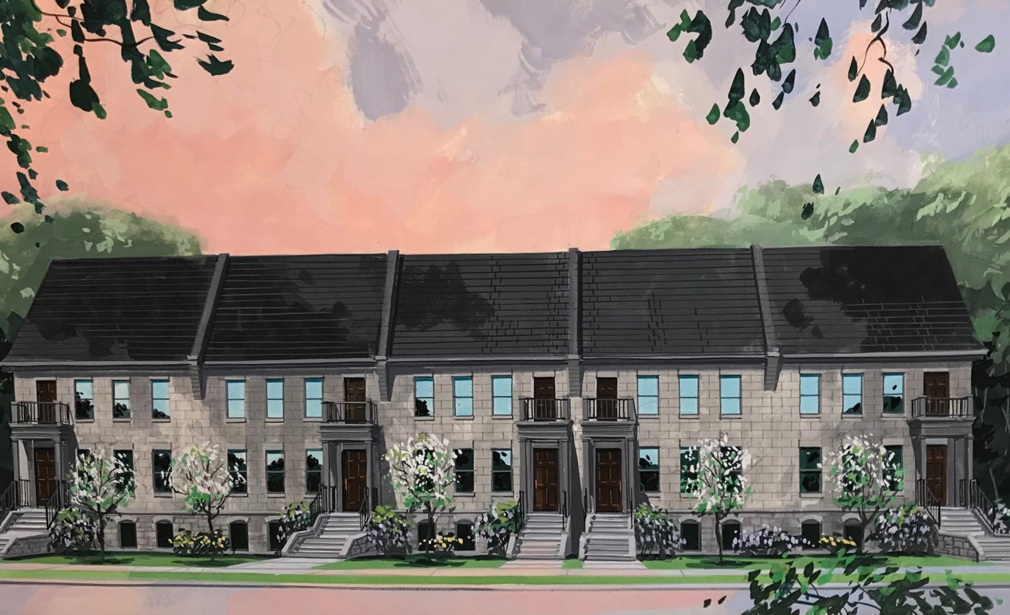 Two-Storey Townhomes